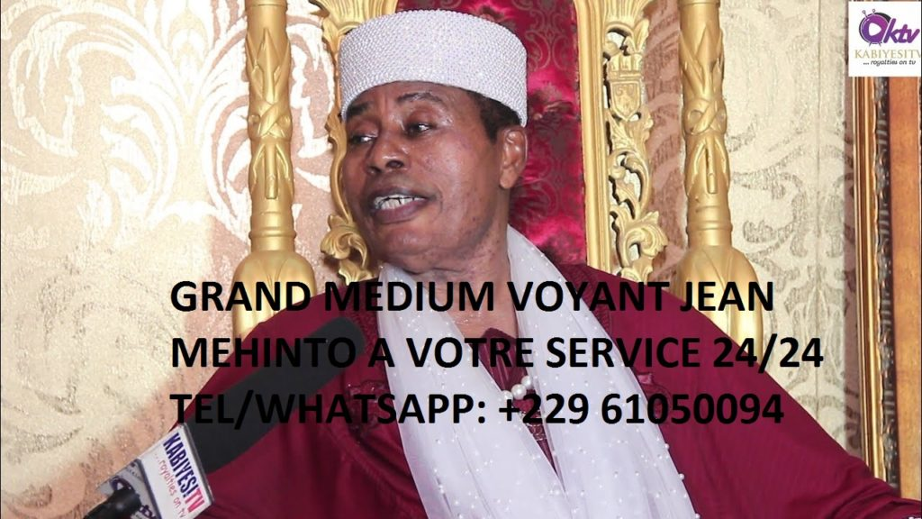 Grand maitre voyant africain JEAN MEHINTO